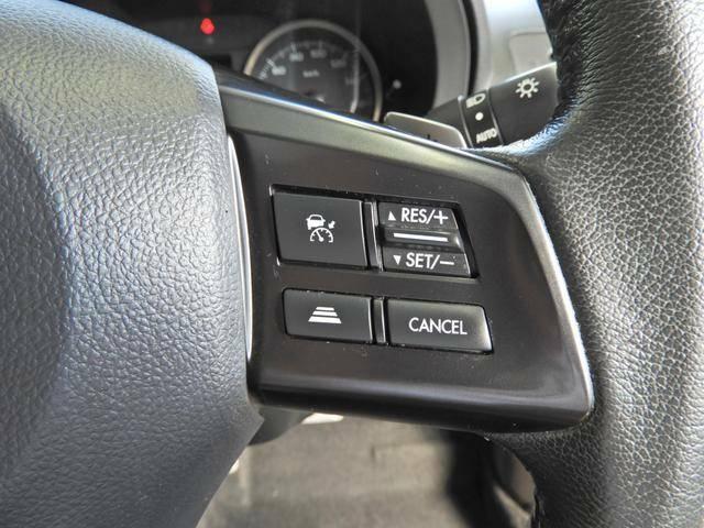 アイサイトと連動の「全車速 追従機能付き クルーズコントロールスイッチ」 長距離運転の心強い味方です!
