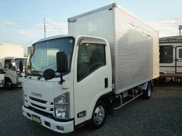 いすゞ エルフ 2t標準ロングアルミバン 車輛総重量4955Kg 車両総重量4955Kg