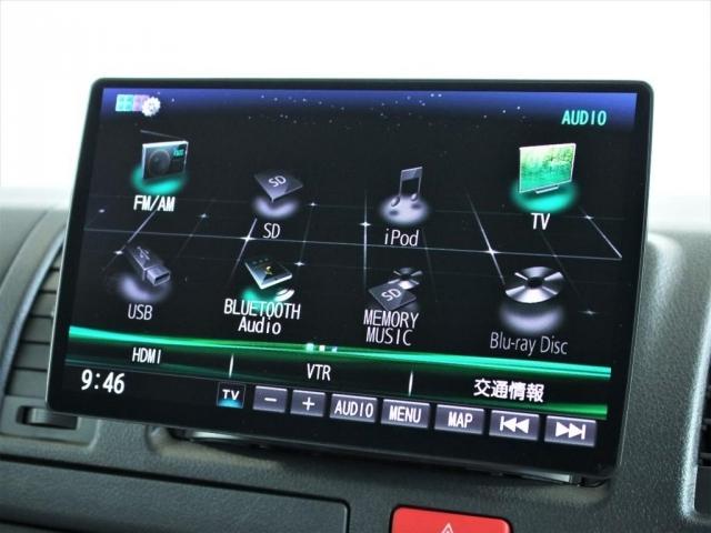 フルセグテレビや、スマホもBluetooth接続可能ですので、車内でも飽きることなくドライブをお楽しみいただけます!
