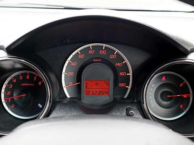 【メーター】現在の走行距離72,354kmでございます。