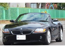 BMW Z4 ロードスター2.5i 電動オープン 革 電動シート 外ナビ TV DVD