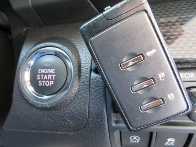 便利なスマートキー装着車両でドアロックのロック・アンドックやエンジンのオン・オフもスマートキーを持っていればボタン一つワンタッチで操作可能ですっ!