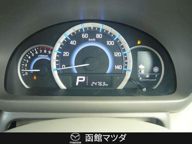 メーター☆走行距離24763キロメートル☆
