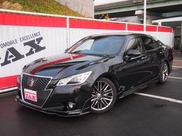 トヨタ クラウンアスリート 3.5 S サンルーフ皮シートプリクラE/Gスターター