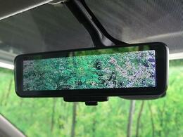 【デジタルインナーミラー】後方を映像で映し出す事で夜間でも見やすくなっております!また、大きなお荷物を載せられた際にも邪魔にならずに済みます♪