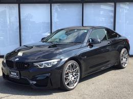 BMW M4クーペ コンペティション M DCT ドライブロジック パーキングサポートP ハーマンカードン