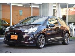 シトロエン DS3 フォーブール・アディクト 100台特別限定車 ミストラルレザー 禁煙車