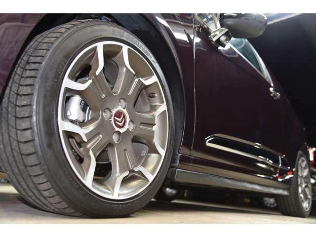 タイヤ、ホイール4本、共に良質OK!