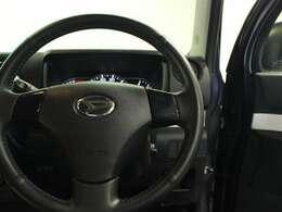 ハンドルは軽やかに回り、気持ちよく運転が出来ます。