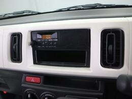 ラジオ付きで、ご納車当日から退屈しません♪