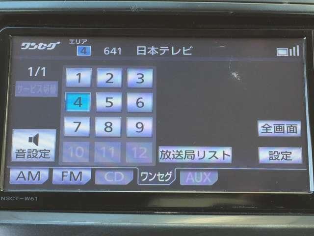【AVソース】 CD・ワンセグTVなど様々なメディアのオーディオを利用できます!