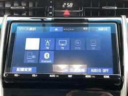 【純正9型ナビ】大画面で迫力があり!!運転がさらに楽しくなりますね!! ◆DVD再生可能◆フルセグTV◆Bluetooth機能あり