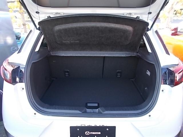 荷室も容量が確保されており、ちょっとした荷物でしたら軽々積載可能です!