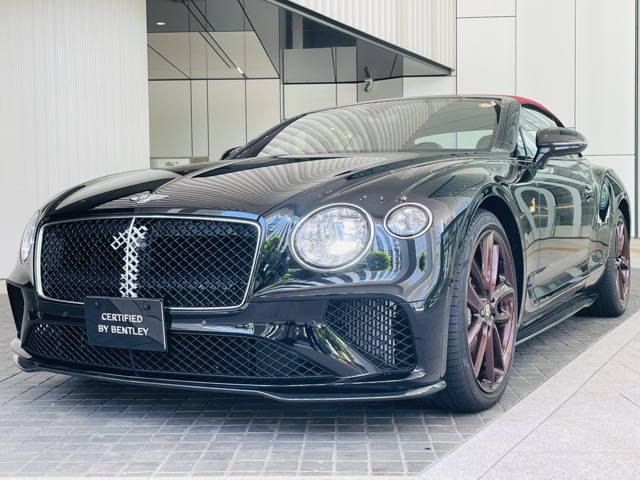 2020年式Continental GT Convertible No.1 Edition 右ハンドルが入荷致しました。