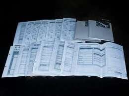 新車保証書メンテナンスノート完備!!記録簿は14回分が確認できこれまでのオーナー様の扱いの良さを感じるポイントです。整備内容も確認しご案内させて頂きますのでお気軽にお申し付け下さいませ!!