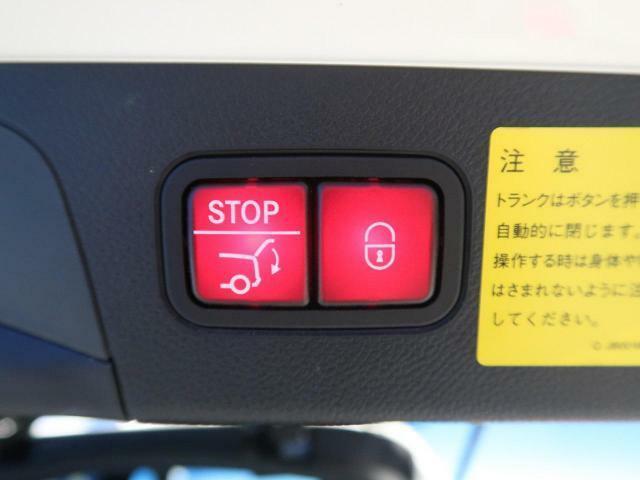●電動リアゲート『ワンタッチでリアゲートの開閉が可能!荷物の積み下ろしも楽々です♪』