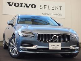 ボルボ V90 D4 インスクリプション ディーゼルターボ 登録済未使用車 白革テーラーM認定中古車