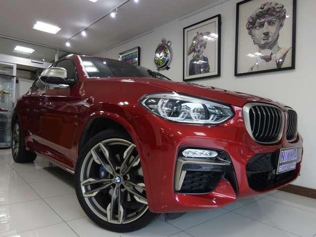 【BMW/X4 M40I】入庫いたしました。