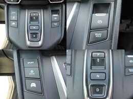 シフトはスイッチ操作のため楽に運転できます
