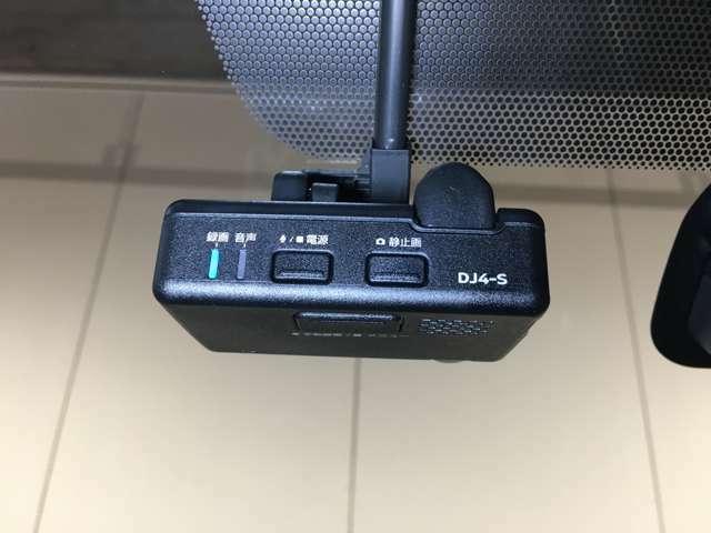 純正ドライブレコーダー付きです♪事故時の映像を記録します。