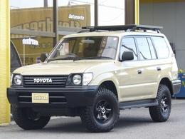 トヨタ ランドクルーザープラド 2.7 TX リミテッド 4WD 丸目フェイス ベージュ