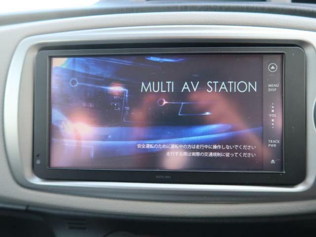 純正SDナビ『嬉しいナビ付き車両ですので、ドライブも安心ですDVD再生可能です♪』