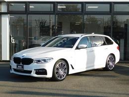 BMW 5シリーズツーリング 540i xドライブ Mスポーツ 4WD 白革電動シート ACC イノベーション HUD