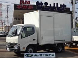 トヨタ ダイナ パネルバン 2t積載 4.0Dターボ AT プリクラッシュセーティー バックモニター