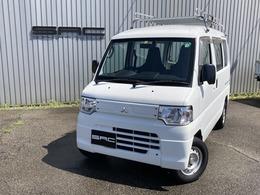 三菱 ミニキャブバン 660 CD AC・PS・ハイルーフ・5速・ルーフキャリア