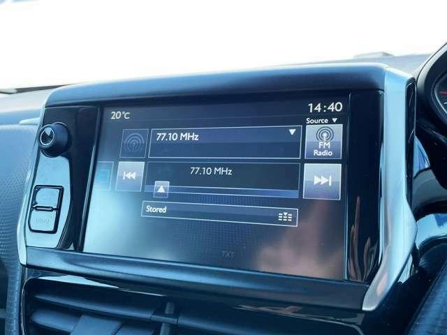 ●純正オーディオシステム『ラジオや外部接続はもちろんのことBluetoothも対応しています。』