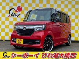 ホンダ N-BOX カスタム 660 G L ターボ ホンダセンシング 4WD 純正8インチインターナビ
