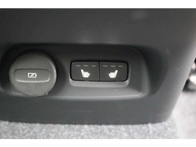 後席にもシートヒーターが装備されています。寒い日にもご家族で快適にお乗りいただけます。