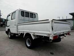 H19 ニッサン アトラス Wキャブ 積載1250kg 走行64100km AT ガソリン車 ボディ内寸長さ2070 幅1580 高さ380