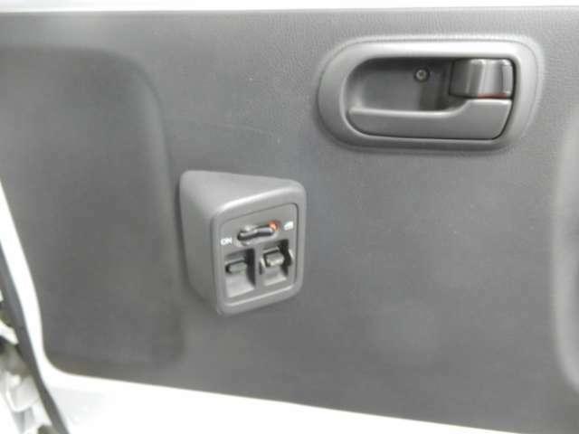 ドアスイッチもシンプルで、使いやすさを考え設計されています。