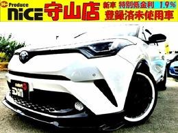 トヨタ C-HR ハイブリッド 1.8 G 安全ブレーキ・9型ナビ・社外19AW・ソナー