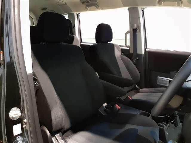 体を支えてくれるシート♪大きいシートでしっかりと体を預けることができます♪