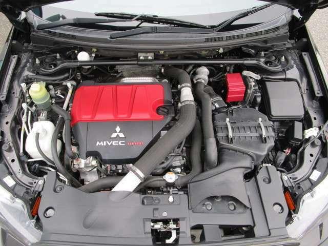 ハイパワー&パフォーマンスの2000ccMIVECターボエンジン搭載!原動機の型式:4B11