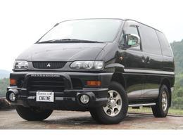 三菱 デリカスペースギア 3.0 シャモニー エアロルーフ 4WD キーレス  7人乗り  車検03/05