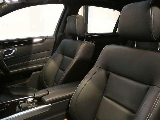 上質なレザーを使用したブラックレザーシートを採用!ランバーサポートやメモリー機能付きパワーシート、シートヒーターも装備しており快適なドライブをお過ごし頂けます!!TEL:047-390-1919