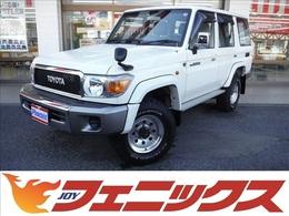 トヨタ ランドクルーザー70 4.0 4WD 1オーナーデフロックジャオスマフラー外AW