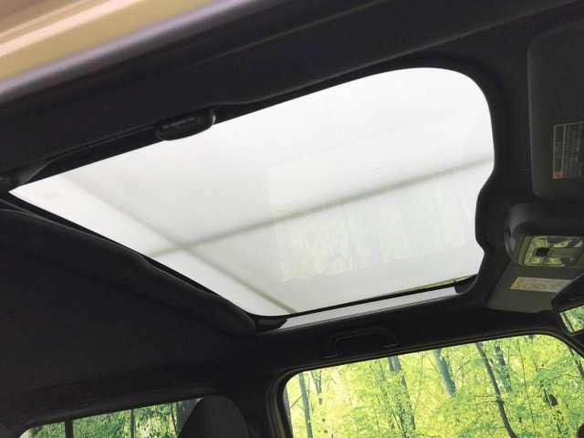 【スカイフィールトップ】屋根の一部がガラスになっています。時間運転で疲れちゃってもこの開放感。