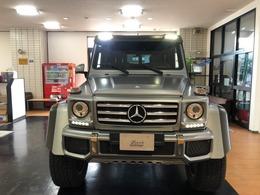 メルセデス・ベンツ Gクラス G550 4x4スクエアード 4WD 受注生産限定車・室内車庫保管車
