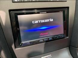 カロッツェリアサイバーナビを装備でロングドライブも快適です。フルセグTV視聴可能!