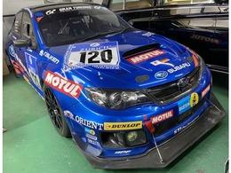 スバル インプレッサSTI WRX2013年Nur24Hレース参戦車