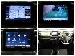 【ナビゲーション(AVIC-RL901ZS)】 スズキ純正ナビを装備しております~!インパネ内にスッキリとビルトイン装着されておりますので、運転時に視界の妨げになる事もありませんよ♪