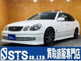 トヨタ アリスト 3.0 S300ベルテックスエディション 社外20インチホイール 社外車高調