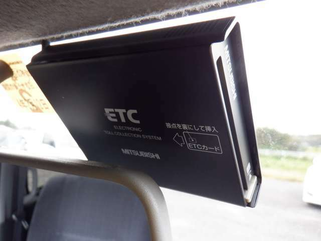ETC付きです☆高速道路の通行もスムーズに♪今や欠かせない装備ですよねっ!