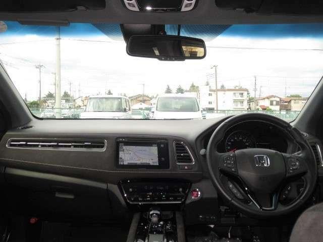 広い視界で安心して運転できます!