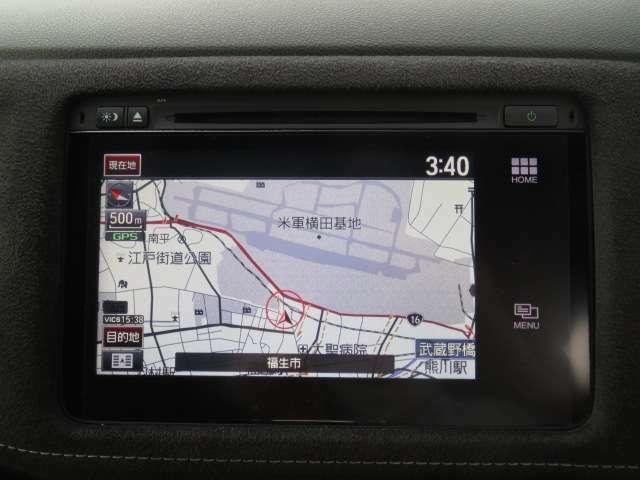 話題のインターナビ装着車。普通のカーナビでは把握できない渋滞情報、災害情報、安否情報など、多彩な情報をご提供するHonda独自の「通信型ナビ」です。