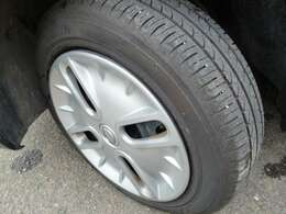 タイヤ溝はまだある方だと思います